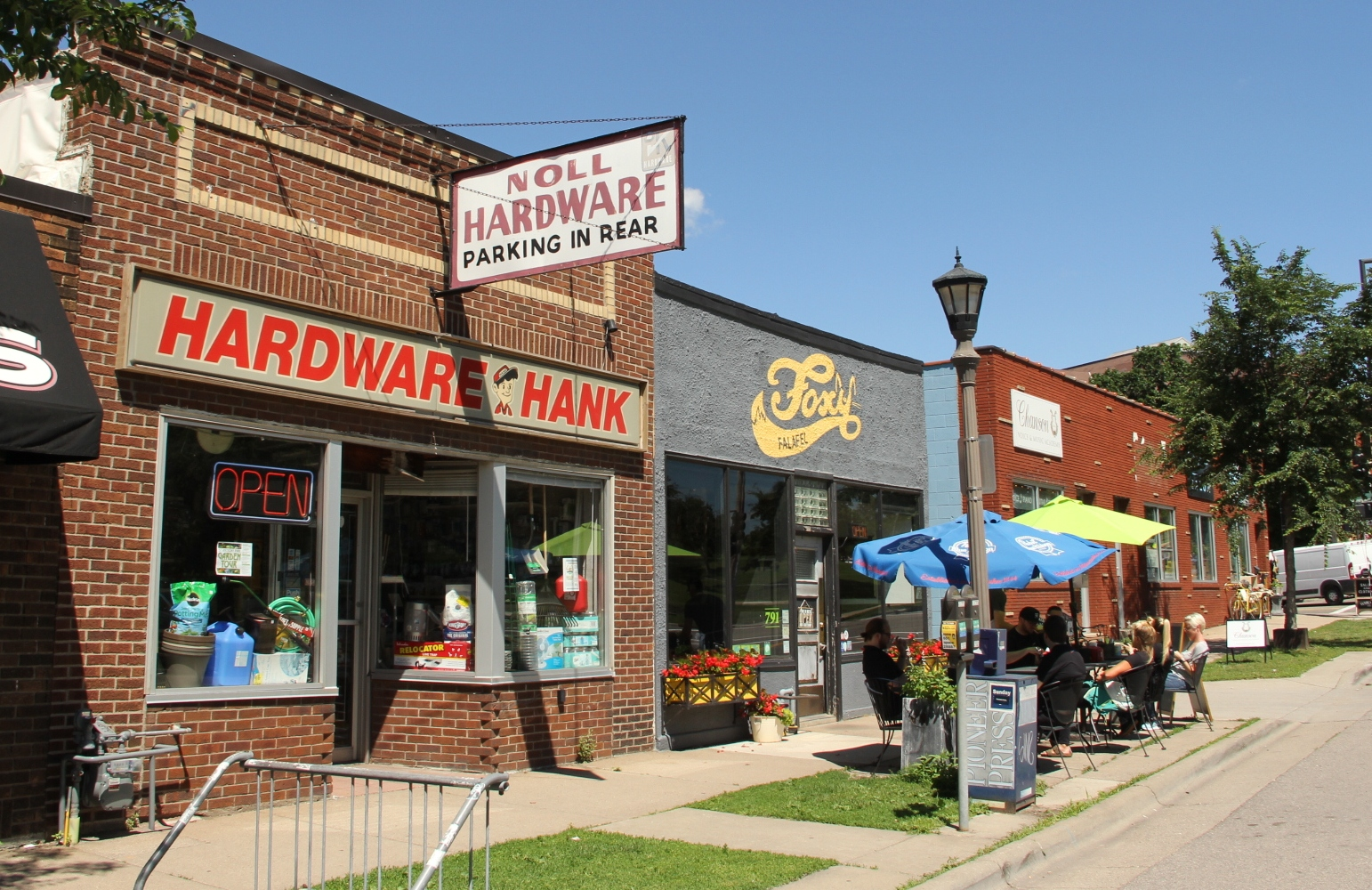 Noll Hardware storefront